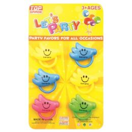 96 Units of Party Favor Six Piece Banana - Party Favors