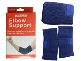 96 Units of 2 Piece Elbow Support - Bandages and Support Wraps