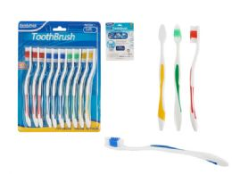144 Units of 10 Piece Toothbrush - Toothbrushes and Toothpaste