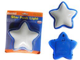 96 Units of Star Push Light - Lightbulbs