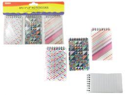 72 Units of 3 Piece Notebooks - Notebooks