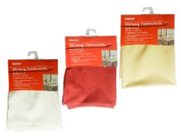 24 Units of Oblong Tablecloth - Table Cloth