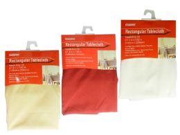 24 Units of Rectangular Tablecloth - Table Cloth