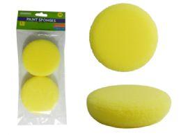 96 Units of 2 Piece Paint Sponges - Paint, Brushes & Finger Paint