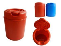 24 Units of Flip Top Trash Can - Waste Basket