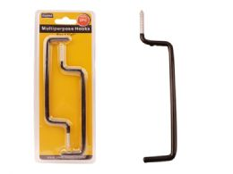 72 Units of 2 Piece Multipurpose Hooks - Hooks
