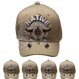 24 Units of Native Cap - Baseball Caps & Snap Backs