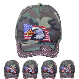 24 Units of Eagle Cap - Baseball Caps & Snap Backs
