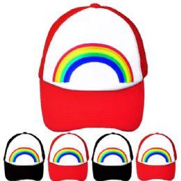 24 Units of Rainbow Cap - Baseball Caps & Snap Backs