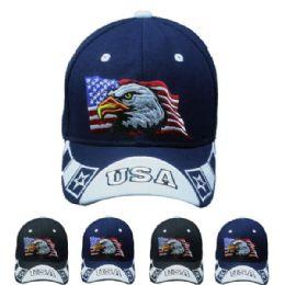 24 Units of Eagle Usa Cap - Baseball Caps & Snap Backs