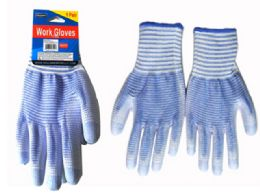 144 Units of Working Glove Large W/rubber - Working Gloves