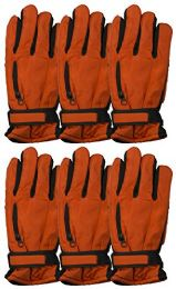 6 Pairs Value Pack of excell Mens Ski Gloves, Hunter Gloves - Winter Gloves