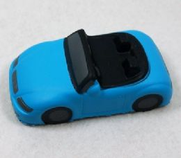 12 Units of Slow Rising Squishy Toy Blue Car - Slime & Squishees