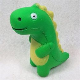 12 Units of Slow Rising Squishy Toy Green Dinosaur - Slime & Squishees