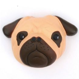 12 Units of Slow Rising Squishy Toy Pug - Slime & Squishees