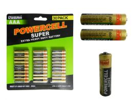 24 Units of 30 Pc Aaa Batteries - Batteries