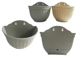 48 Units of Wall Mounted Flower Planter Pot - Garden Planters and Pots