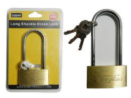 96 Units of 50mm Long Brass Locks Brass - Padlocks and Combination Locks