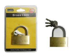 96 Units of 45mm Long Brass - Padlocks and Combination Locks