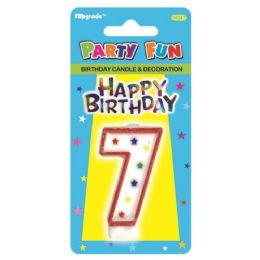 144 Units of Birthday Candle Number Seven - Birthday Candles