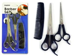 96 Units of 3pc Barber, Hair Cut Set - Hair Accessories