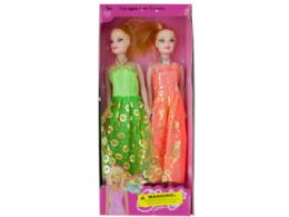 18 Units of Fancy Fashion Doll Set - Dolls