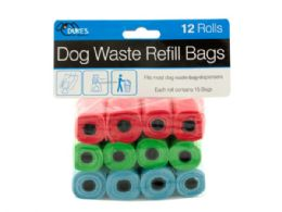 24 Units of Dog Waste Refill Bags - Pet Grooming Supplies