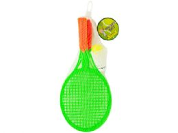 54 Units of Kids Racket Set With Ball & Birdie - Summer Toys