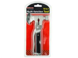 6 Units of 10 in 1 Multi-Function Hammer & Axe Tool - Hammers