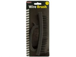 36 Units of Wire Brush With Handle - Hardware Miscellaneous