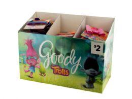 144 Units of Goody Girls Trolls Hair Accessories Countertop Display - Hair Accessories