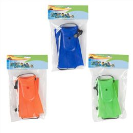 24 Units of Kids Size Swimming Fins - Summer Toys