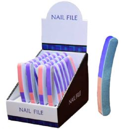 60 Units of Nail File - Manicure and Pedicure Items