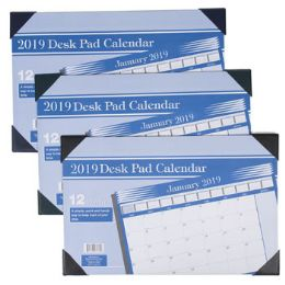 72 Units of 11x17 12month 2019 Calendar Desk Pad - Calendars & Planners