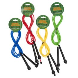 24 Units of 9 ft Plastic Jump Rope - Jump Ropes