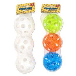 36 Units of 3 Pack Practice Balls - Balls