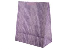 72 Units of Large Pastel Texture Print Gift Bag - Gift Bags