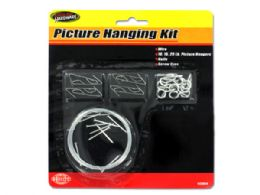 72 Units of Picture Hanging Kit - Hooks