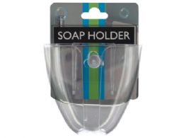 72 Units of Soap Holder With Suction Cups - Soap Dishes & Soap Dispensers