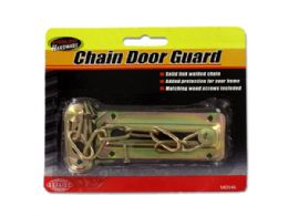 72 Units of Chain Door Guard with Screws - Hardware Miscellaneous