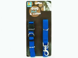 48 Units of Dog Collar & Lead Set - Pet Collars and Leashes