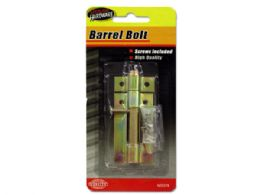 72 Units of Barrel Bolt With Screws - Screwdrivers and Sets