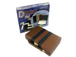 12 Units of Domino Gift Set - Dominoes & Chess