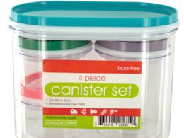 18 Units of Multi-Purpose Nesting Canister Set - Storage Holders and Organizers