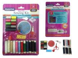 96 Units of 60 Pc Sewing Kit - Sewing Supplies