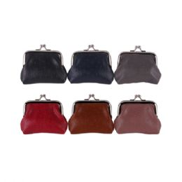 36 Units of Ladies Coin Purse Assorted Colors - Coin Holders & Banks
