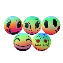 48 Units of Dodge Ball 9in Emoji - Balls