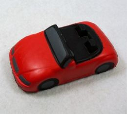 36 Units of Slow Rising Squishy Toy *red Car - Slime & Squishees