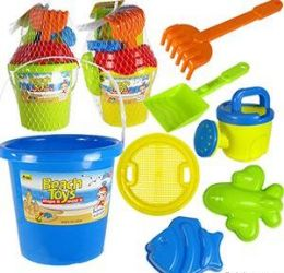 6 Units of 6 Piece Beach Toy Sets - Beach Toys