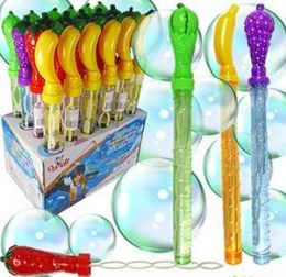 72 Units of Fruit Bubble Wands - Bubbles